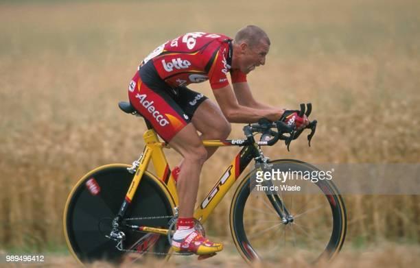 Cycling Tour De France 2000Marichal Thierry Action Prologue Etape1 Futuroscope Cyclisme Wielrennen Cyclingtdf Iso Sport Tour De France 2000Tour De...