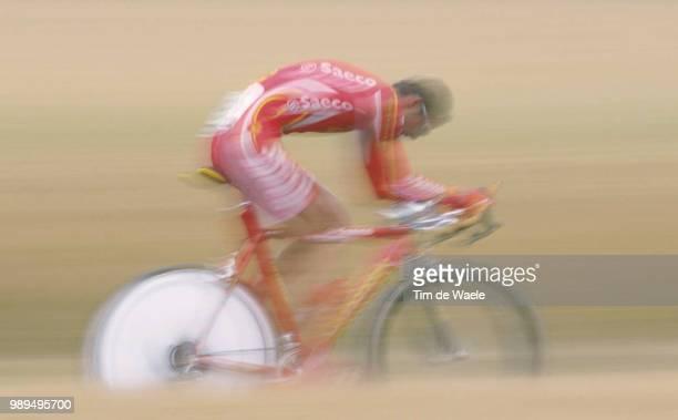 Cycling Tour De France 2000Mori Massimiliano Prologue Etape 1Futuroscope Cyclisme Wielrennen Cyclingtdf Iso Sport Tour De France 2000Tour De France...