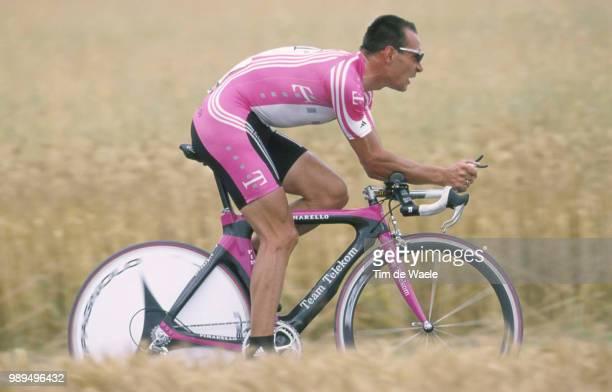 Cycling Tour De France 2000Zabel Erik Action Prologue Etape 1Futuroscope Cyclisme Wielrennen Cyclingtdf Iso Sport Tour De France 2000Tour De France...