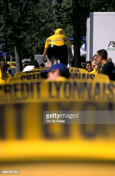 Tour De France 2002 /Illustration, Illustratie, Maillot Jaune, Yellow Jersey, Gele Trui, Credit Lyonnais /Tdf, Ronde Van Frankrijk,