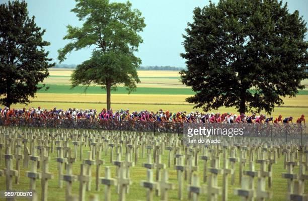 Tour De France 2002 /Illustration, Illustratie, Paysage, Landscape, Landschap, Peloton /Tdf, Ronde Van Frankrijk,