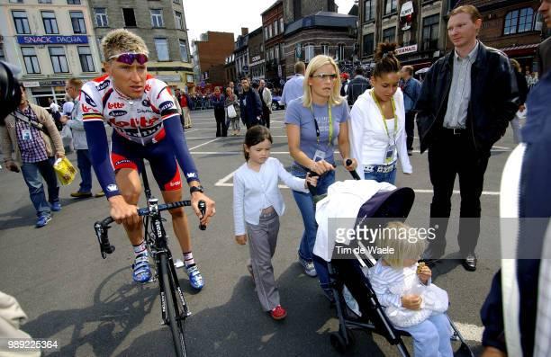 Tour De France 2004 Merckx Axel Family Axanna Jodi Stage Etape Rit 2 Charleroi Namurronde Van Frankrijk