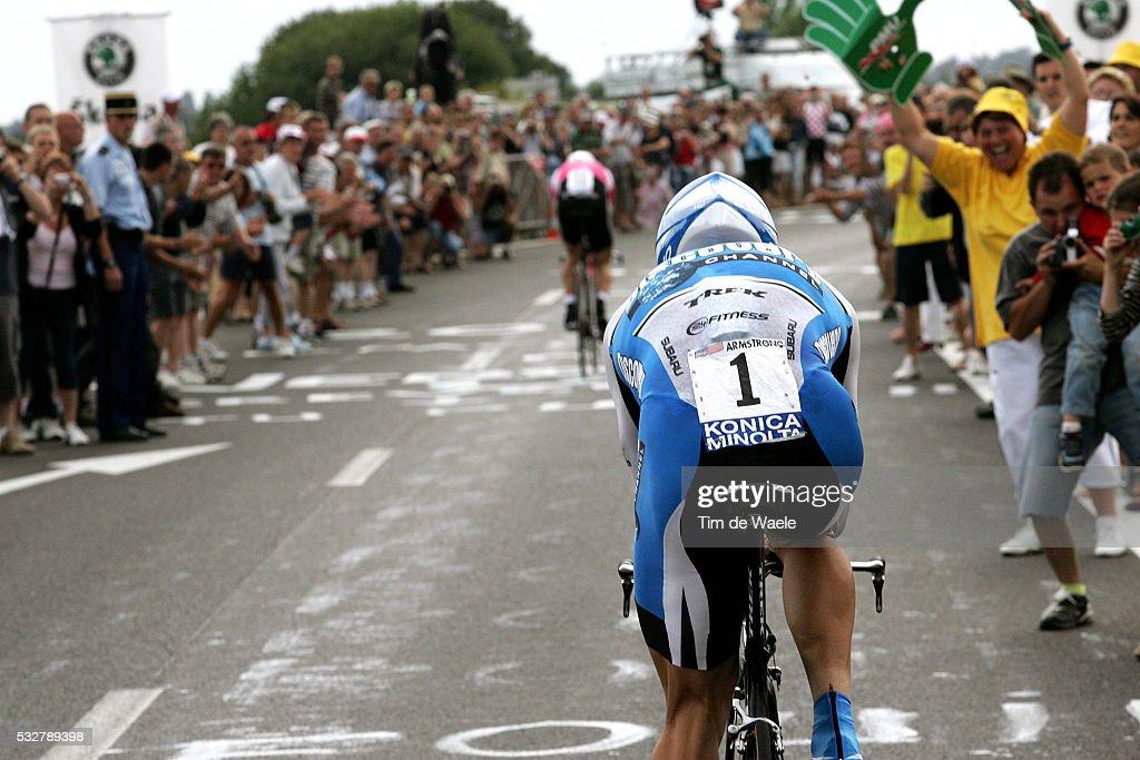 Cycling 2005 - Tour de France - Stage 1 : Nachrichtenfoto