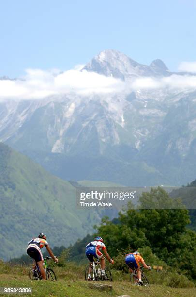 Tour De France 2005, Stage 16 Illustration Illustratie, Peleton Peloton, Landscape Paysage Landschap, Mountains Montagne Bergen, Col...