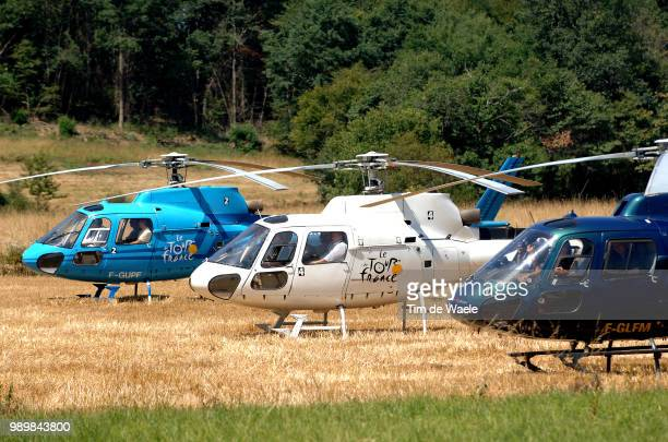 Tour De France 2005, Stage 17 Illustration Illustratie, Helico Helicopterpau - Reveletape Ritronde Van Frankrijk, Tdf, Uci Pro Tour