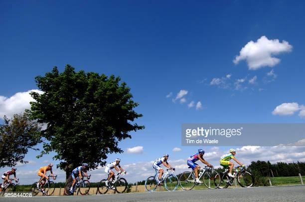 Tour De France 2005, Stage 19Pereiro Oscar , Commesso Salvatore , Calzati Sylvain , Casar Sandy , Azevedo Josã© , Weening Pieter , Arvesen Kurt-Asle...