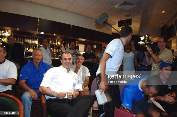 Tour De France 2006 Stage 6Team Ag2R Lavenu Vincent Sportsdirector World Cup Football Germany Coupe Du Monde Foot Allemagne Wereldbeker Voetbal...