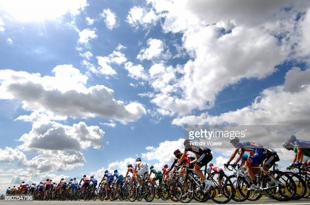 Tour De France 2007, Stage 3Illustration Illustratie, Clowds Nuages Wolken Sky Ciel Lucht, Peleton Peloton, Landscape Paysage Landschap, Hincapie...