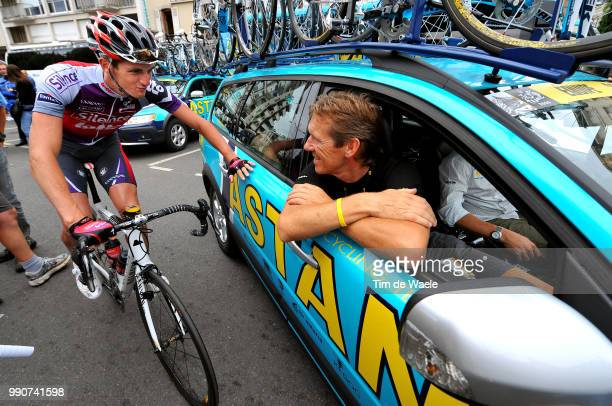 Tour De France 2009, Stage 10Dirk Demol Sportsdirector Team Astana , Jurgen Van Den Broeck , Limoges - Issoudun , Rit Etape, Tdf, Tim De Waele