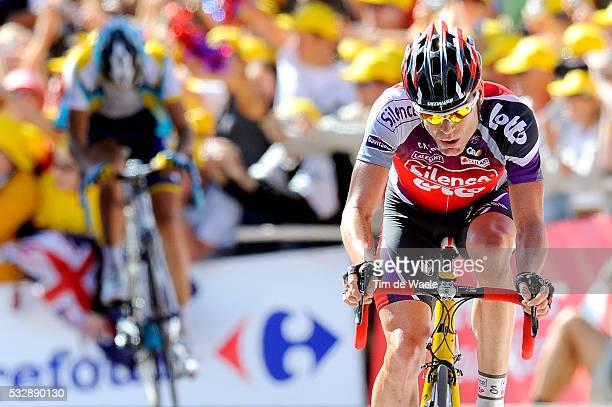 'Cycling Tour de France 2009 / Stage 15 EVANS Cadel Pontarlier Verbier / Rit Etape / TDF / Ronde van Frankrijk / Tim De Waele '