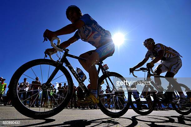 'Cycling Tour de France 2009 / Stage 15 GERDEMANN Linus / HINCAPIE George / Silhouet / Pontarlier Verbier / Rit Etape / TDF / Ronde van Frankrijk /...