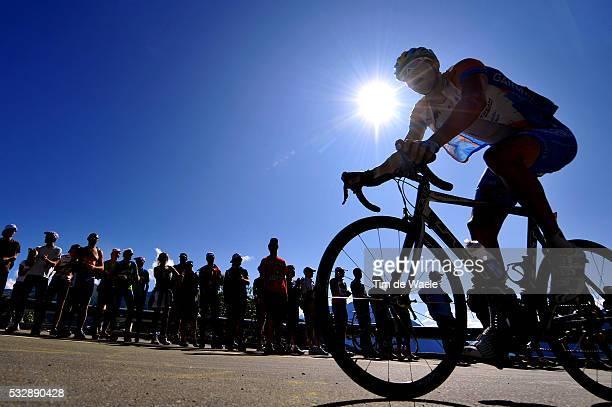 'Cycling Tour de France 2009 / Stage 15 Illustration Illustratie / Silhouet / Pontarlier Verbier / Rit Etape / TDF / Ronde van Frankrijk / Tim De...