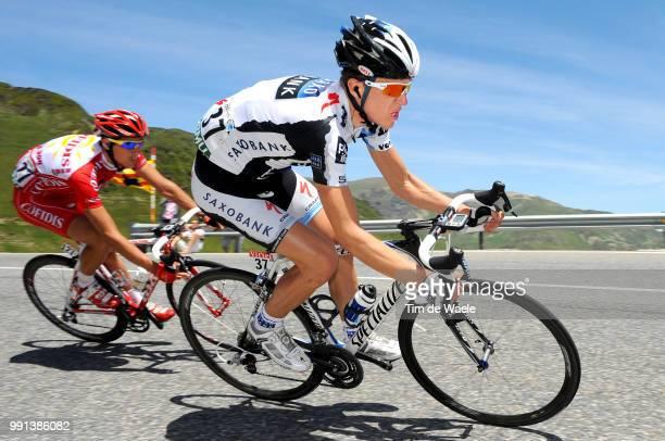 Tour De France 2009 Stage 8Sorensen Chris Anker /AndorreLaVielle SaintGirons Rit Etape Tdf Tim De Waele