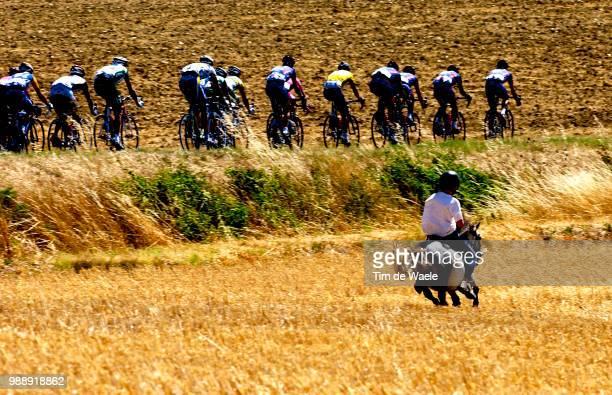 Tour De France, Stage 13, Illustration, Illustratie, Peleton, Peloton, Paysage, Landscape, Landschap, Armstrong Lance, Maillot Jaune, Yellow Jersey,...