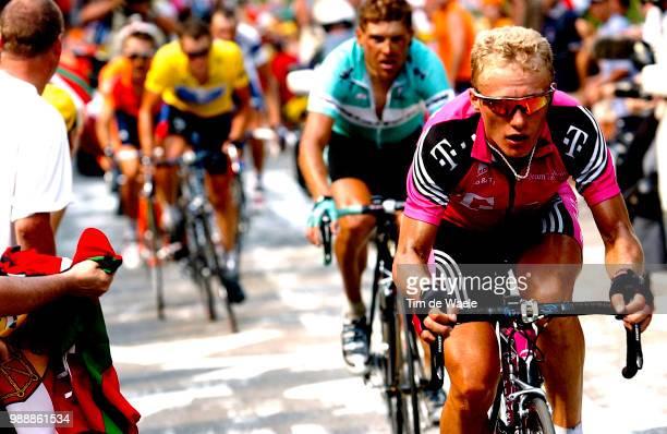 Tour De France, Stage 13, Vinokourov Alexandre, Ullrich Jan, Armstrong Lance, Zubeldia Haimar, Basso Ivan, Toulouse - Ax-3 Domaines, Ronde Van...