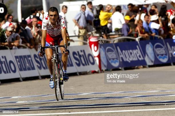 Tour De France, Stage 13, Virenque Richard, Maillot A Points Montagne, Mountain Jersey, Bergtrui Bolletjestrui, Toulouse - Ax-3 Domaines, Ronde Van...