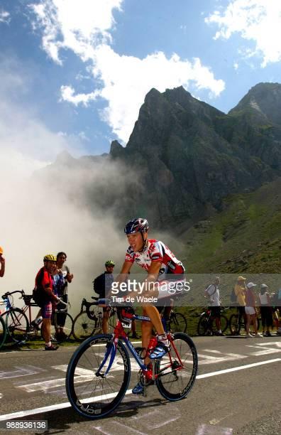 Tour De France, Stage 15, Merckx Axel, Bagneres-De-Bigorre - Luz-Ardiden , Ronde Van Frankrijk 2003 , 100 Ans, Jaar, Year , Tdf, Etape, Rit,