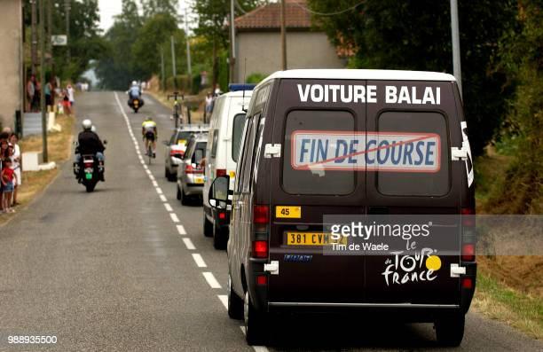 Tour De France, Stage 15, Voiture Balai, Bagneres-De-Bigorre - Luz-Ardiden , Ronde Van Frankrijk 2003 , 100 Ans, Jaar, Year , Tdf, Etape, Rit,