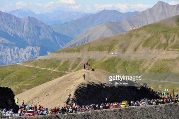 Tour De France Stage 16Illustration Illustratie Peleton Peloton Col Cime De La BonetteRestefond Mountains Montagnes Bergen Landscape Paysage...