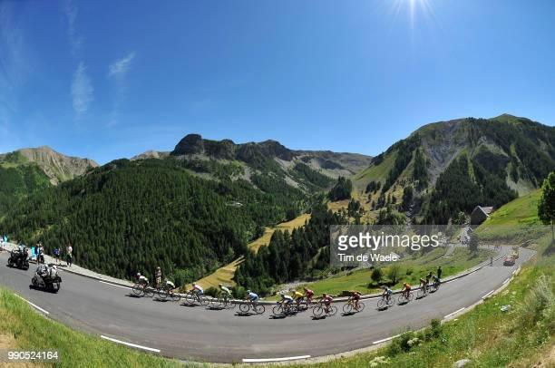 Tour De France Stage 16Illustration Illustratie Peleton Peloton Landscape Paysage Landschap Mountains Montagnes Bergen Col Cime De La...