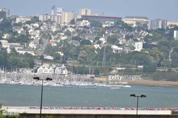 Tour De France, Stage 1Illustration Illustratie, Brest City Ville Stad, Landscape Paysage Landschap, Sea Mer Zee, Brest - Plumelec Ronde Van...