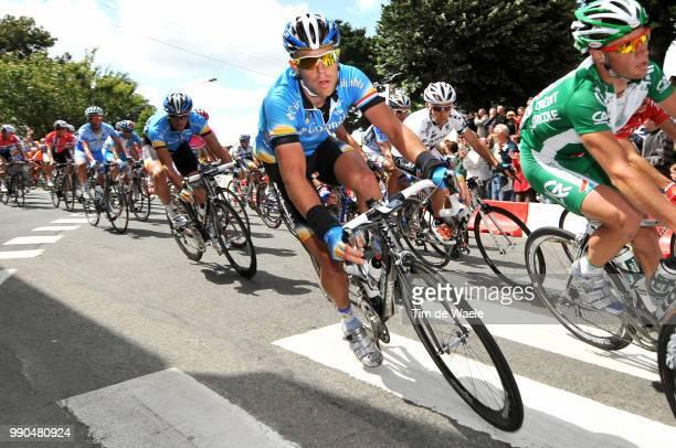Tour De France, Stage 1Kim Kirchen , Brest - Plumelec Ronde Van Frankrijk, Tdf, Etape Rit, Tim De Waele