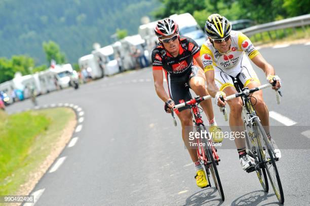 Tour De France, Stage 7Sanchez Luis-Leon ), Jufre Pou Josep /Brioude - Aurillac , Ronde Van Frankrijk, Tdf, Etape Rit, Tim De Waele