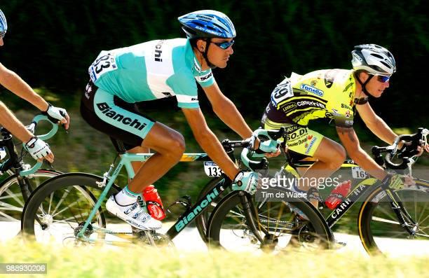 Tour De France, Stage 8, Casero Angel, Zampieri Steve, Sallanches - L'Alpe D'Huez /Ronde Van Frankrijk 2003 , 100 Ans, Jaar, Year, Etape, Rit,