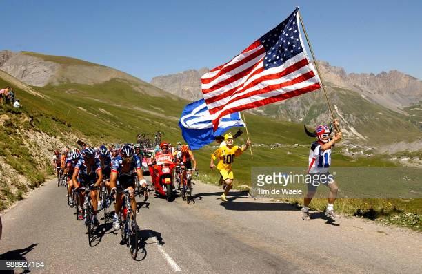 Tour De France, Stage 8, Illustration, Illustratie, Fans, Supporters, Armstrong Lance, Hincapie George, Beltran Manuel, Team Equipe Ploeg Us Postal,...