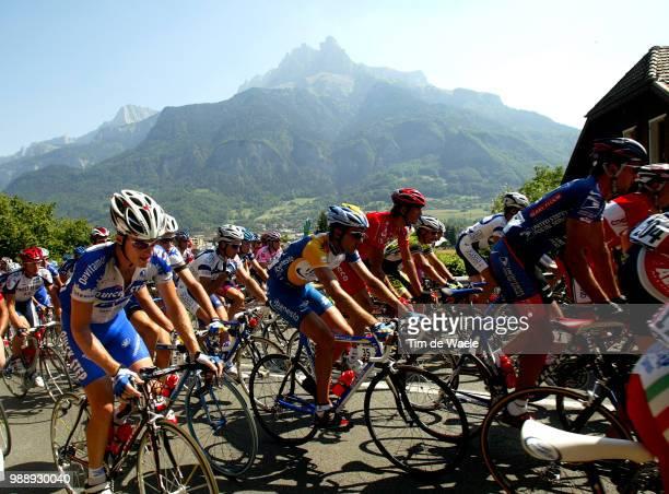 Tour De France, Stage 8, Illustration, Illustratie, Peleton, Peloton, Paysage, Landscape, Landschap, Rogers Michael, Sallanches - L'Alpe D'Huez...