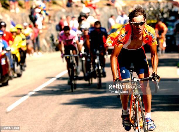 Tour De France, Stage 8, Mayo Iban, Hamilton Tyler, Zubeldia Haimar, Beloki Joseba, Sallanches - L'Alpe D'Huez /Ronde Van Frankrijk 2003 , 100 Ans,...