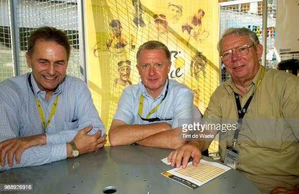 Tour De France Stage 8 Rogge Jacques Ioc Cio Verbrugge Hein Uci De Backer Laurent Belgian Cycling Sallanches L'Alpe D'Huez /Ronde Van Frankrijk 2003...