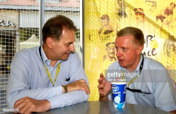 Tour De France Stage 8 Rogge Jacques Ioc Cio Verbruggen Hein Uci /Sallanches L'Alpe D'Huez /Ronde Van Frankrijk 2003 100 Ans Jaar Year Etape Rit