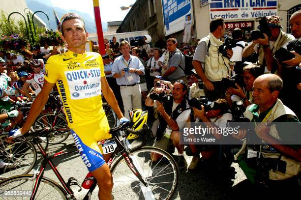 Tour De France, Stage 8, Virenque Richard, Maillot Jaune, Yellow Jersey, Gele Trui, Press, Pers, Photographes, Photographers, Fotograaf, Sallanches -...