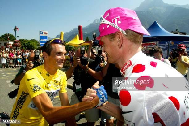 Tour De France, Stage 8, Virenque Richard, Maillot Jaune, Yellow Jersey, Gele Trui, Aldag Rolf, Maillot A Points Montagne, Mountain Jersey, Bergtrui...
