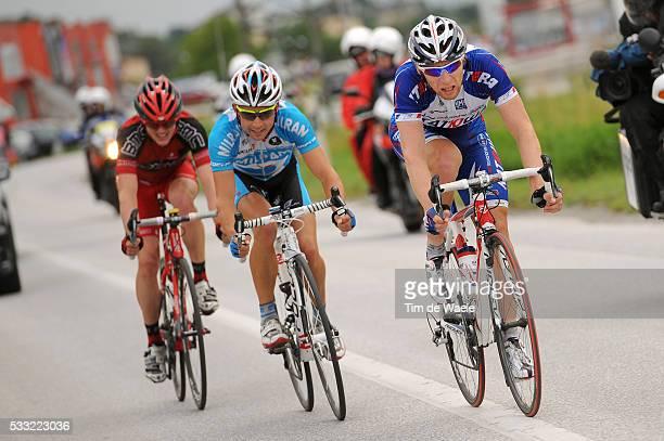 Tour de Suisse 2010 / Stage 2 Pavel BRUTT / Matthias RUSS / Mathias FRANK / Ascona - Sierre / Etape Rit / Tim De Waele