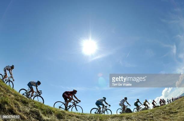 Tour De Suisse, Stage 7Illustration Illustratie, Peleton Peloton, Silhouet Shadow Schaduw, Landscape Paysage Landschap /Gruy?Res - Lyss Etape Rit,...