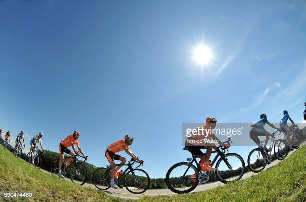 Tour De Suisse, Stage 7Illustration Illustratie, Peleton Peloton, Silhouet Shadow Schaduw, Landscape Paysage Landschap, Team Euskaltel-Euskadi ,...