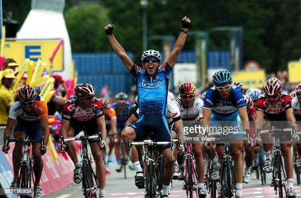 Tour Germany 2004Sentjens Roy Davis Allan Celebration Joie Vreugde Radochla Steffen Voigt Jens Zabel Erik Hondo Danilo Guidi Fabrizio Stage 5 Kelheim...