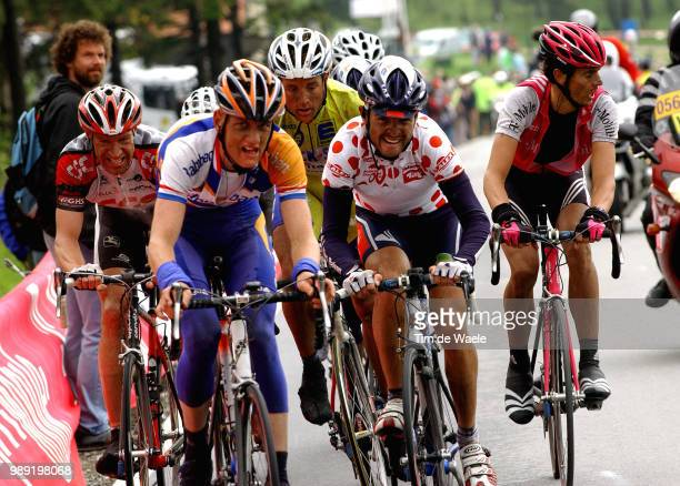 Tour Germany 2004Weening Pieter Mancebo Perez Francisco Voigt Jens Sinkewitz Patrik Yellow Jersey Maillot Jaune Gele Trui Kloden Andreas Stage 6...