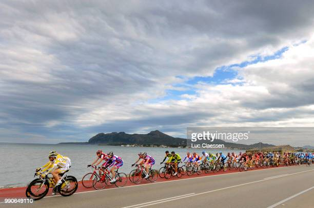 Tour Mallorca, Stage 3Illustration Illustratie, Peleton Peloton, Sky Ciel Lucht, Landschap Paysage Landschap /Inca - Inca /Volta Ciclista Mallorca,...