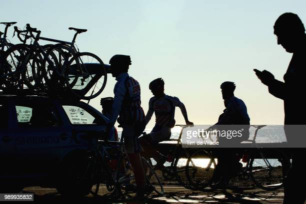 Tour Mã©Diterranã©En, Stage 6Illustration Illustratie, Shadow Hombre Schaduw, Start Departure Departsanremo - Sanremo Tour Med, Ronde Van Middelandse...