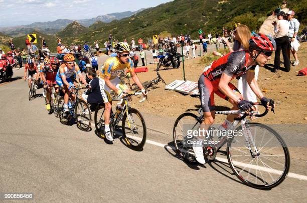 Tour Of California 2010 Stage 8Levi Leipheimer / Michael Rogers Yellow Jersey David Zabriskie / Thousand Oaks Westlake Village Agoura Hills Ronde Rit...