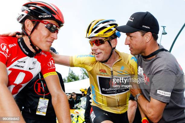 Tour Of California 2011 Stage 8Arrival Chris Horner Yellow Jersey Busche / Celebration Joie Vreugde Santa Clarita To Thousand Oaks 1324Km /Rond Toc...