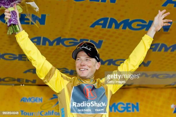 Tour Of California 2011 Stage 8Podium Chris Horner Yellow Jersey Celebration Joie Vreugde Santa Clarita To Thousand Oaks 1324Km /Rond Toc Etape Rit...