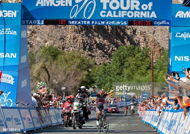 Tour Of California 2013 Stage 2Arrival/ Janier Alexis Acevedo Celebration Joie Vreugde Murrieta Greater Palm Springs Toc Amgen/ Ronde Rit Etape Tim...