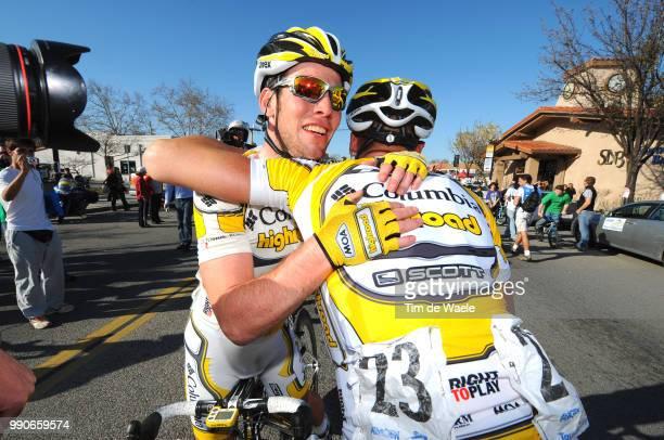 Tour Of California Stage 5Arrival Mark Cavendish Adam Hansen Celebration Joie Vreugde /Visalia Paso Robles /Ronde Rit Etape Tim De Waele