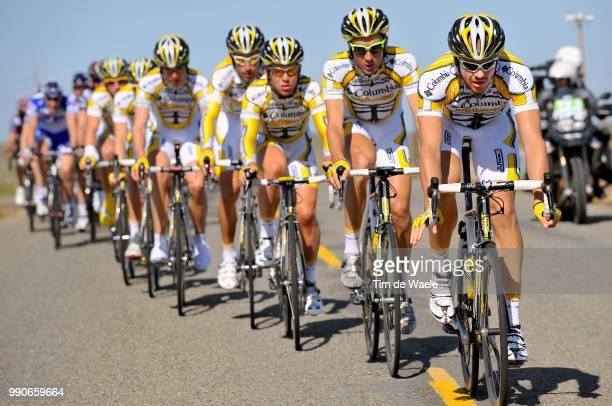 Tour Of California Stage 5George Hincapie Mark Cavendish Adam Hansen Michael Barry Thomas Lovkvist Mark Renshaw Michael Rogers Team Columbia High...