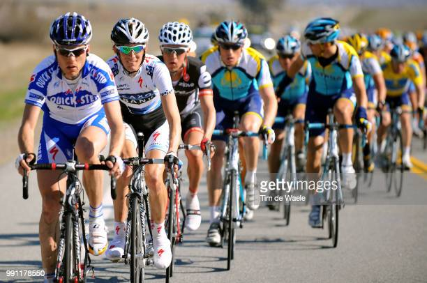 Tour Of California Stage 5Kevin De Weert Andy Schleck Visalia Paso Robles /Ronde Rit Etape Tim De Waele