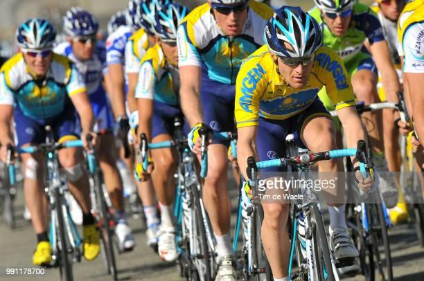 Tour Of California Stage 5Levi Leipheimer Yellow Jersey Visalia Paso Robles /Ronde Rit Etape Tim De Waele